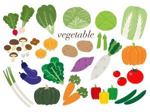 毛細血管 美肌を作る 野菜を食べる