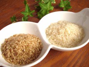 美肌と玄米食