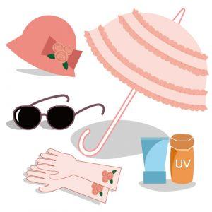 美肌 紫外線予防 シミ、シワ、たるみ