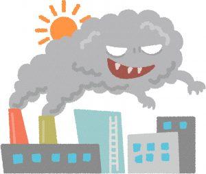 美肌 大気汚染 シミ、シワ、たるみ