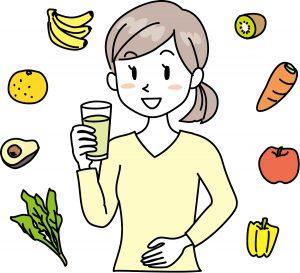 美肌と健康 にんじんジュース