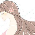 髪の毛と女性ホルモンの関係のイメージ