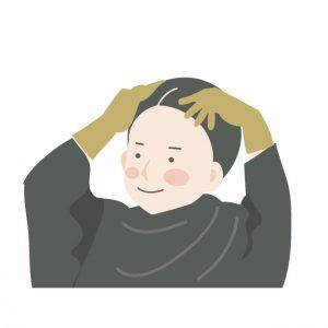 白髪染め ヘアマニキュア