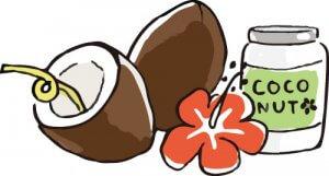ココナッツオイル 美肌 健康 50代女性 効果効能