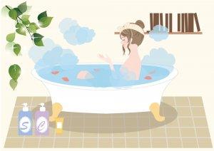 50代女性 メディシナルハーブ 更年期症状の改善 美肌 ハーブバス