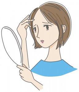 50代女性 髪の悩み 白髪 薄毛