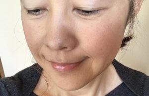 ETVOS  化粧後 使用感