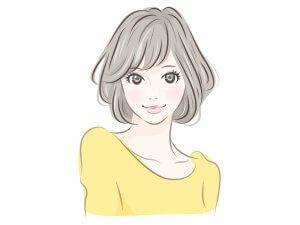 50代女性 口角を上げる 笑顔 マイナス5歳