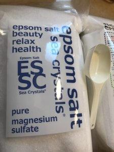 50代女性 美肌 エプソムソルト入浴剤