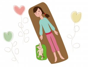 50代女性 睡眠 成長ホルモン 美肌 健康 ヨガ