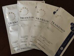 50代女性 美白シートマスク トランシーノ 美白 美肌