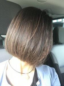 50代女性 おすすめの髪型 山田養蜂場 薬用RJケアエッセンス 育毛