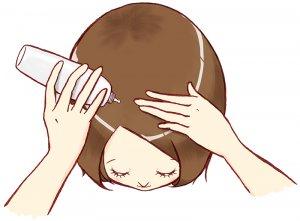50代女性 頭皮マッサージ 美肌つくり 薄毛ケア 育毛剤 山田養蜂場