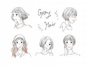 50代女性 グレイヘア グレイヘアの美しい人 おすすめの本