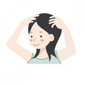 50代女性 白髪 薄毛 原因と対策 頭皮マッサージ