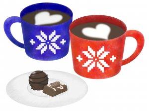 50代女性 薄毛対策 知覚神経刺激 食品 コーヒー チョコレート