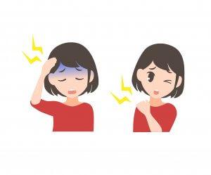 50代女性 低気圧と頭痛 気象病 自律神経