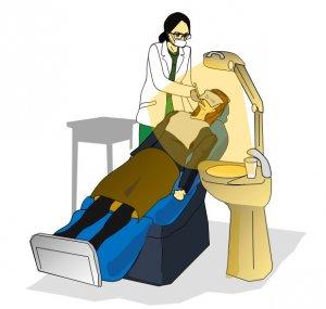 50代女性の歯の健康 歯科 定期検診のイメージ