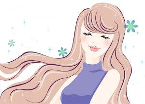 50代女性の髪型 ヘアアイロンの使い方 ヘアアイロンで巻き髪