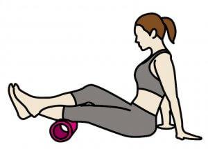 50代女性 ダイエット フォームローラー 筋膜リリース 使用方法