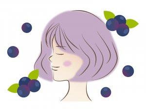 50代女性 疲れ目予防、アンチエイジングにマキベリー