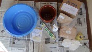 小泉麹屋さんの味噌キットと仕込みの準備写真