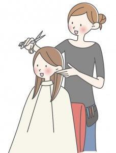 ヘアスタイルをオーダーする 美容師さんとの会話