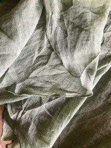 マキシ丈スカート 裾